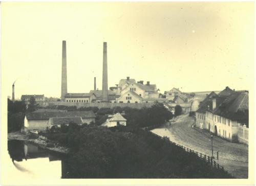 Louny - Valterův cukrovar, Husova 1890