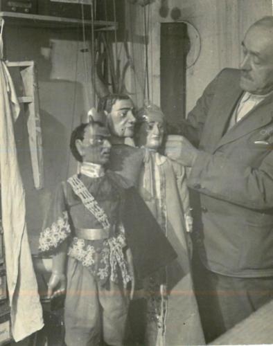 Principál John kolem roku1940