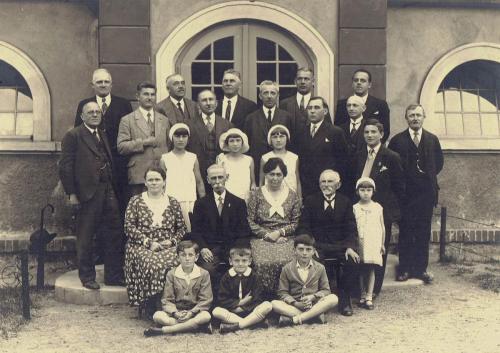 Spolek loutkářů v Lounech 9. června 1931