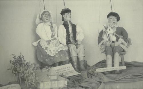 Olšovy loutky z poloviny 19. století