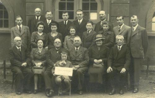 Členové spolku 5.5.1940